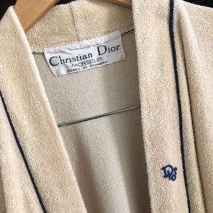 Vintage Christian Dior Monsieur Robe